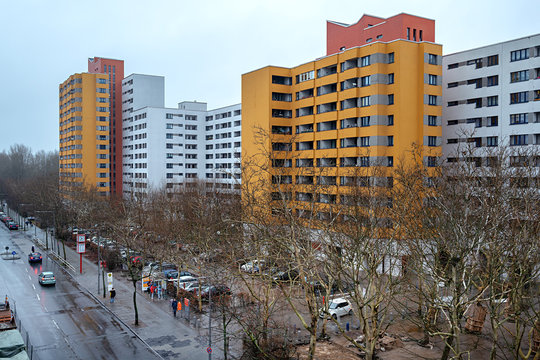 Hochhaussiedlung Märkisches Viertel in Berlin