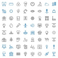 light icons set