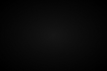 Dark abstract background with seamless pattern dots. Vector illustration