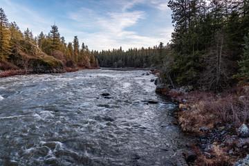 Spokane River At Riverside State Park