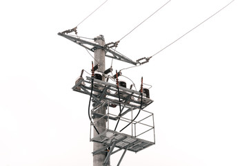 Photo of electricity pole