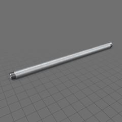 50 cm straight steel pipe