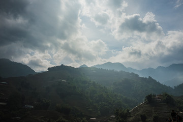 misty mountain village