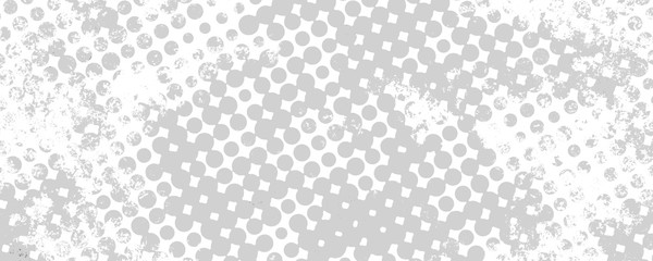 Monochrome grunge background of spots halftone