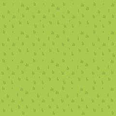 Cartoon grass vector flat pattern