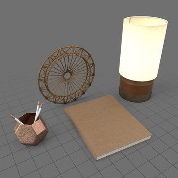 Decorative desk set 2