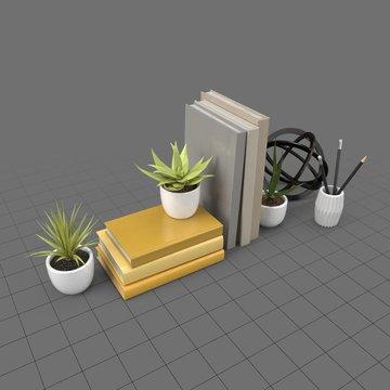 Decorative desk set 1
