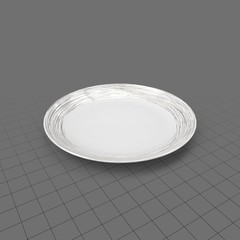 Small dinnerware plate