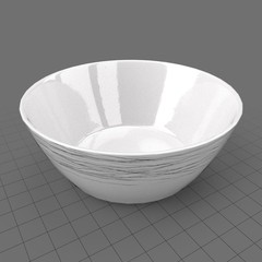 Modern dinnerware bowl