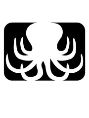 form button logo oktopus krake kopffüßer kalmar tentakel tintenfisch unterwasser monster comic cartoon clipart lustig design meer wasser tauchen fisch