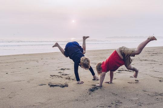Kids on Stinson Beach