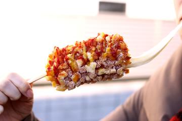 ハットグ / ホットドック / アメリカンドッグ 韓国 チーズ
