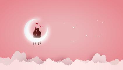 Fototapeta Concept of Love and Valentine day . obraz