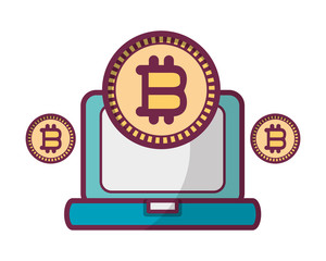 bitcoin with computer