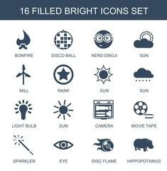 bright icons