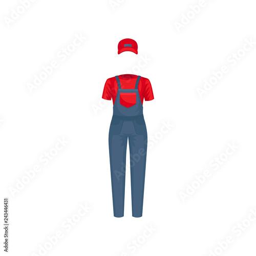 ac9a3b5eb9665 Female air hostess suit. White blouse