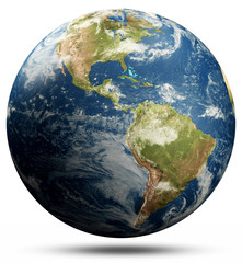 Wall Mural - Planet Earth - North and South America