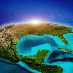 Wall Mural - United States and Mexico