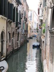 Aluminium Prints Venice Beautiful view of the Venice Canal