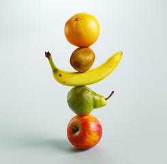 Totem of fruit