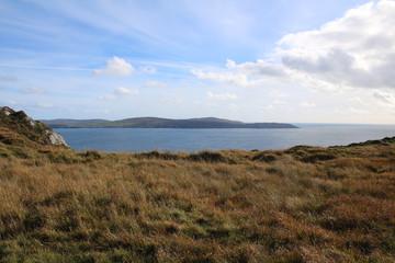 Cliffs overlooking the Atlantic ocean west Cork Ireland