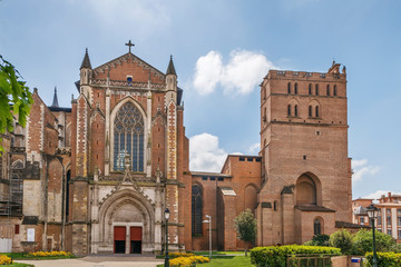 Toulouse Cathedral, France