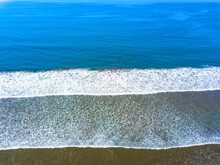 Das Meer aus der Vogelperspektive