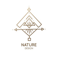 Sacred abstract nature