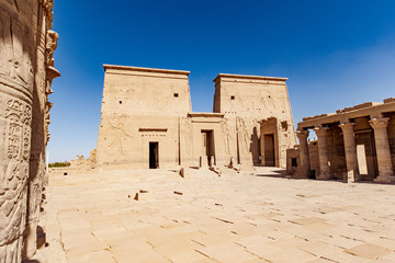 Egypt Temple Philae Aswan