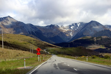road in the montains