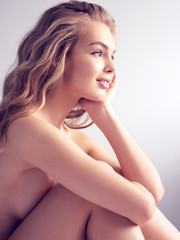 Beautiful young naked woman