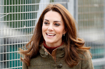The Duchess of Cambridge visits the King Henry's Walk Garden in Islington