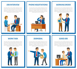 Interview and Phone Negotiations Business Call