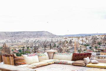 cappadocia at home in the mountains