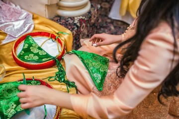 wedding ceremony of the Persians, holiday, traditions