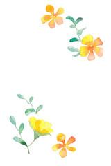 野花、黄色
