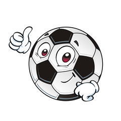 cartoon soccer ball