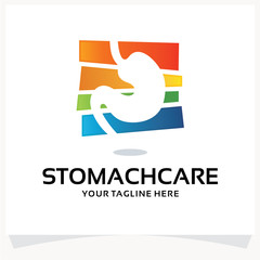 Stomach Care Logo Design Template Inspiration