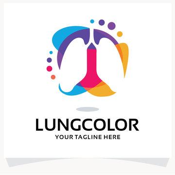 Lung Logo Design Template Inspiration