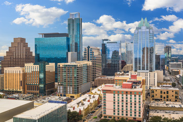 Wall Mural - Austin, Texas, USA skyline