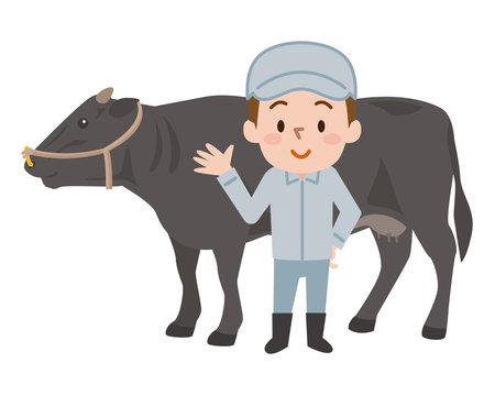 畜産農家 黒毛和牛