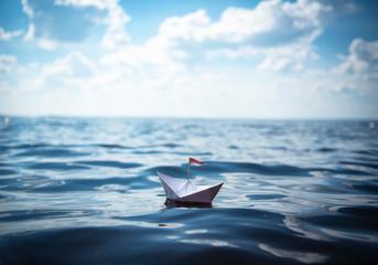 Paper Boat | Sea Panorama