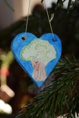 Fototapeta Ozdoby bożonarodzeniowej choinki obraz