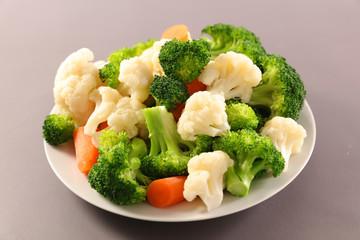 Wall Mural - boiled vegetable, health food