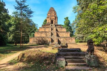 Baksei Chamkrong Temple. Angkor, Cambodia