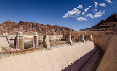 Printed roller blinds Dam Hoover Dam