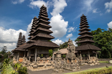Pura Taman Ayun temple is Badung on Bali, Indonesia.