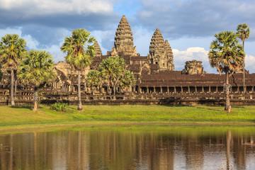 Angkor Wat Buddhist temple, Cambodia