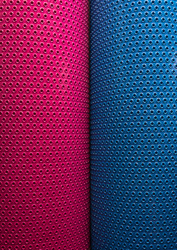 female and male concept pink and blue texture