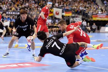 IHF Handball World Championship - Germany & Denmark 2019 - Group A - Korea v Serbia